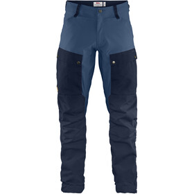 Fjällräven Keb Pantalon Homme, dark navy-uncle blue